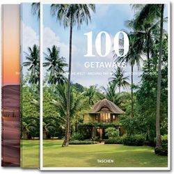 """100 Getaways around the World by Margit J. Mayer, <a href=""""http://www.taschen.com/pages/en/catalogue/lifestyle/all/43403/facts.100_getaways_around_the_world.htm"""">Taschen</a>, $59.99. Available at Taschen, 1111 Lincoln Road."""