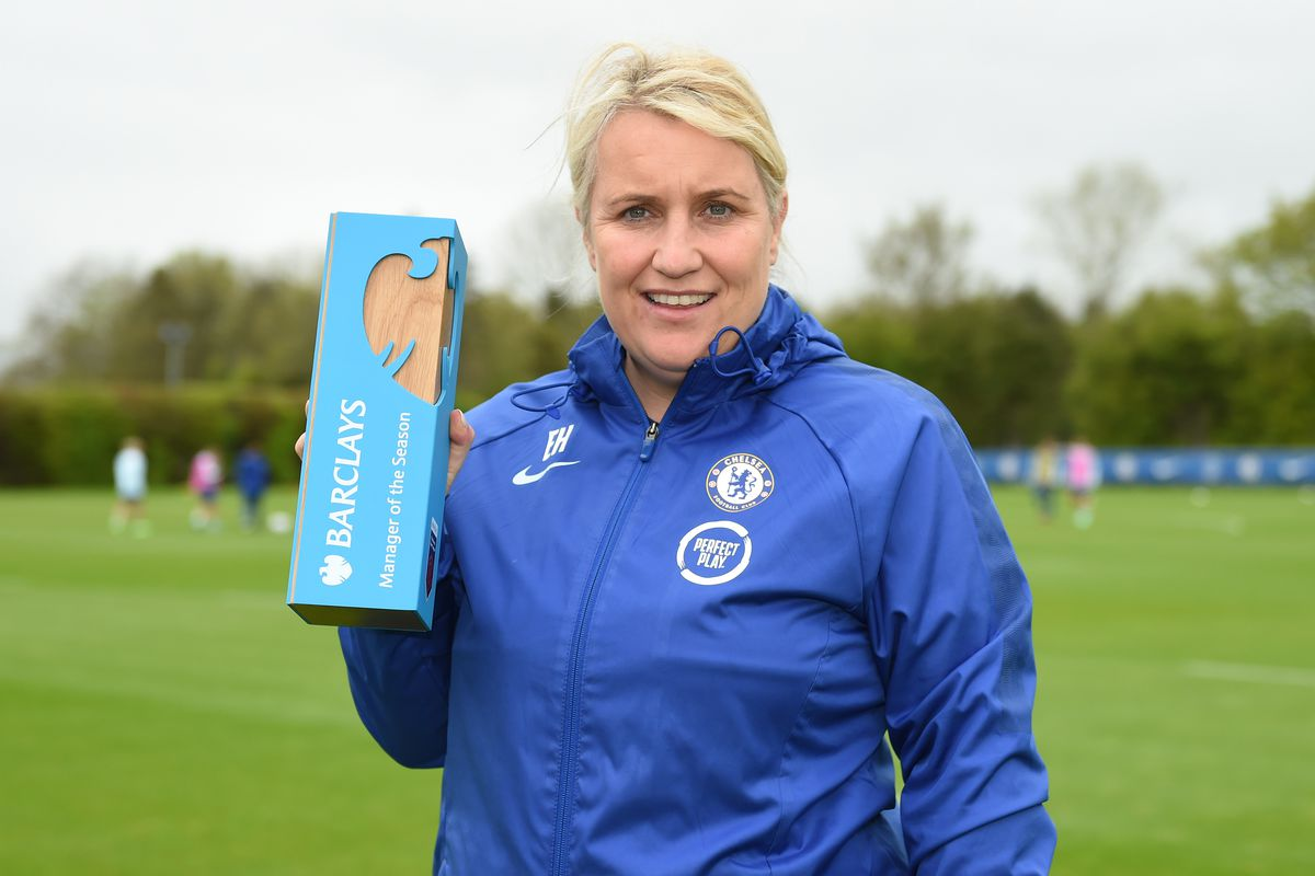 Emma Hayes of Chelsea is Announced as the WSL Manager of the Season