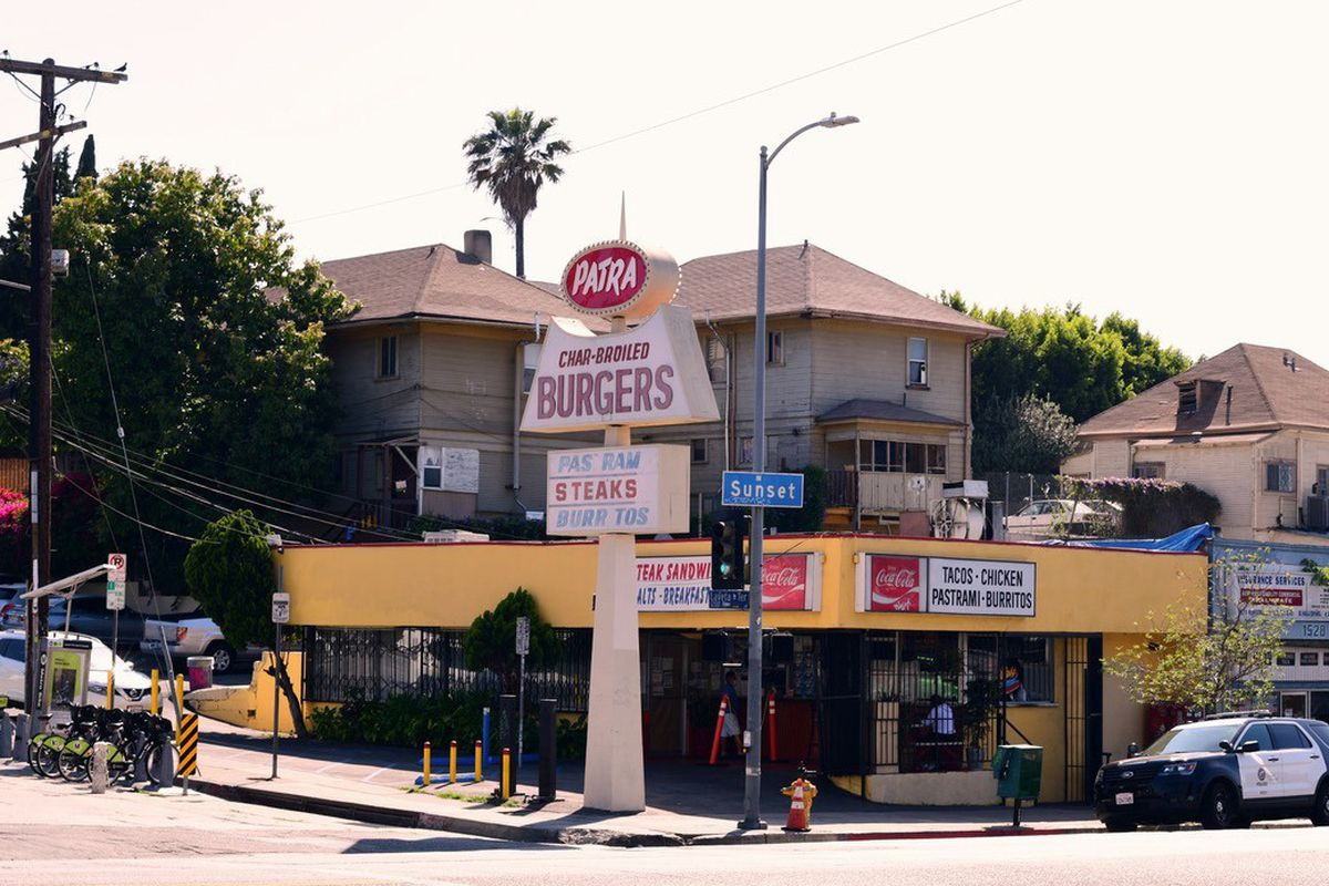 Patra's Charbroiled Burgers in Echo Park, California
