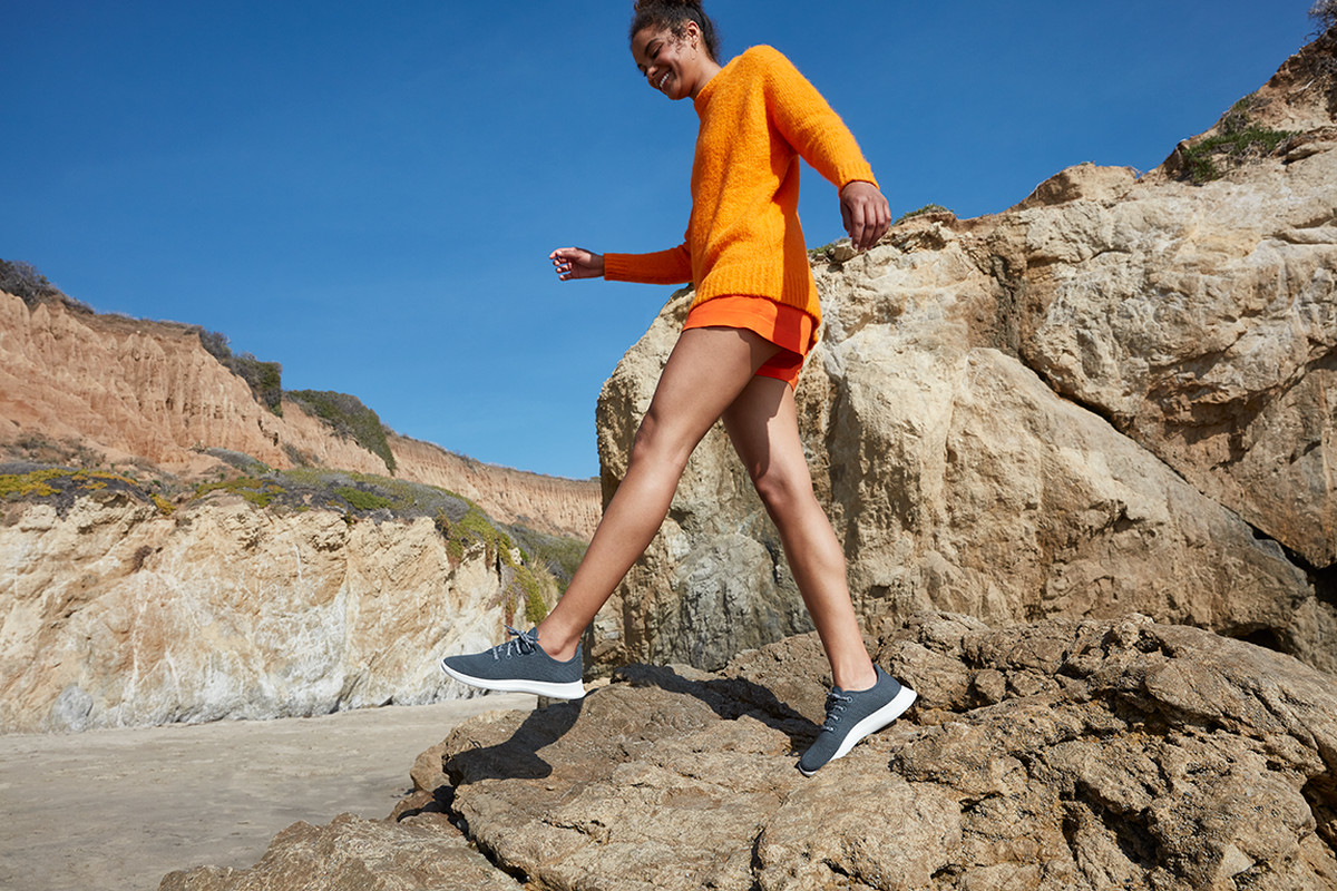 Allbirds' Cool New Sneakers Are Made from *This* Surprising Material