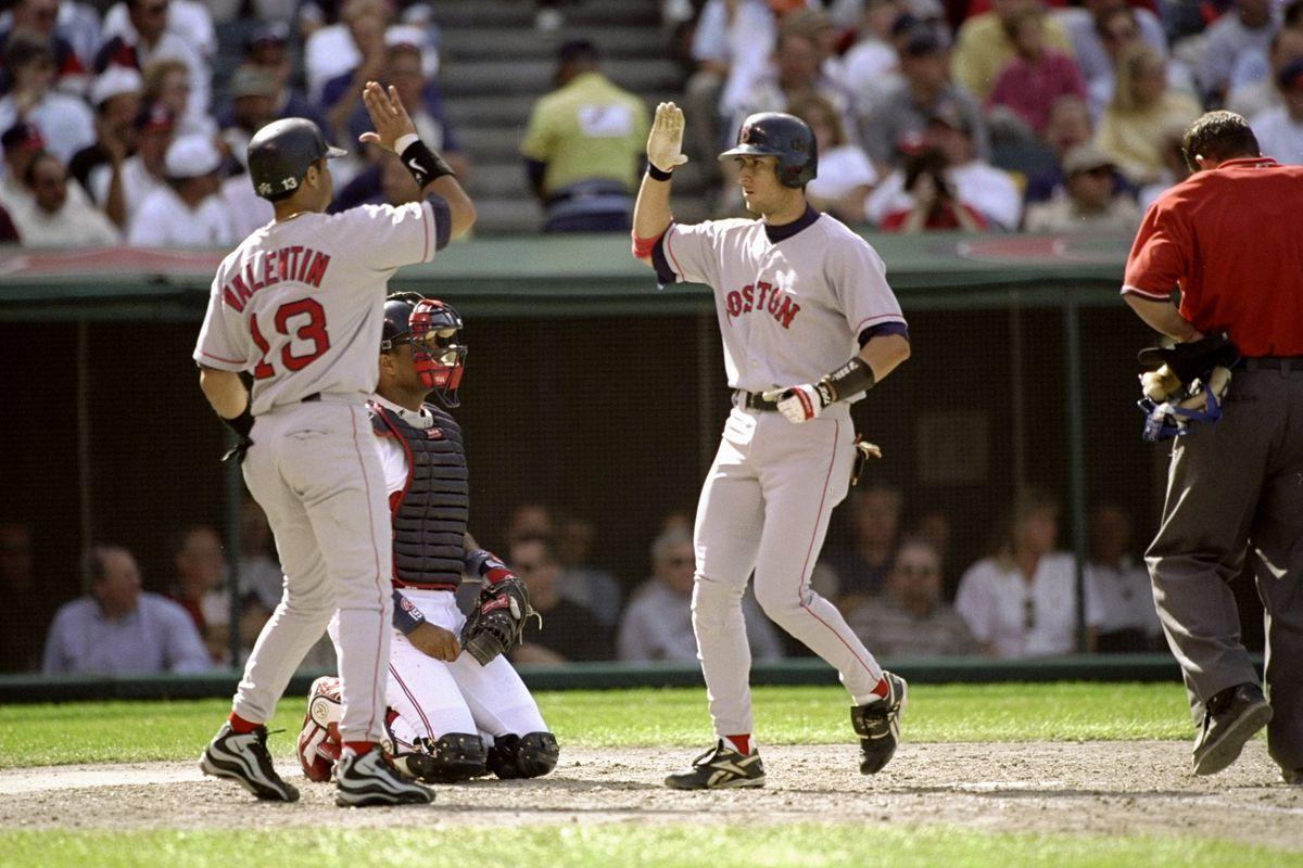 Red Sox V Indians