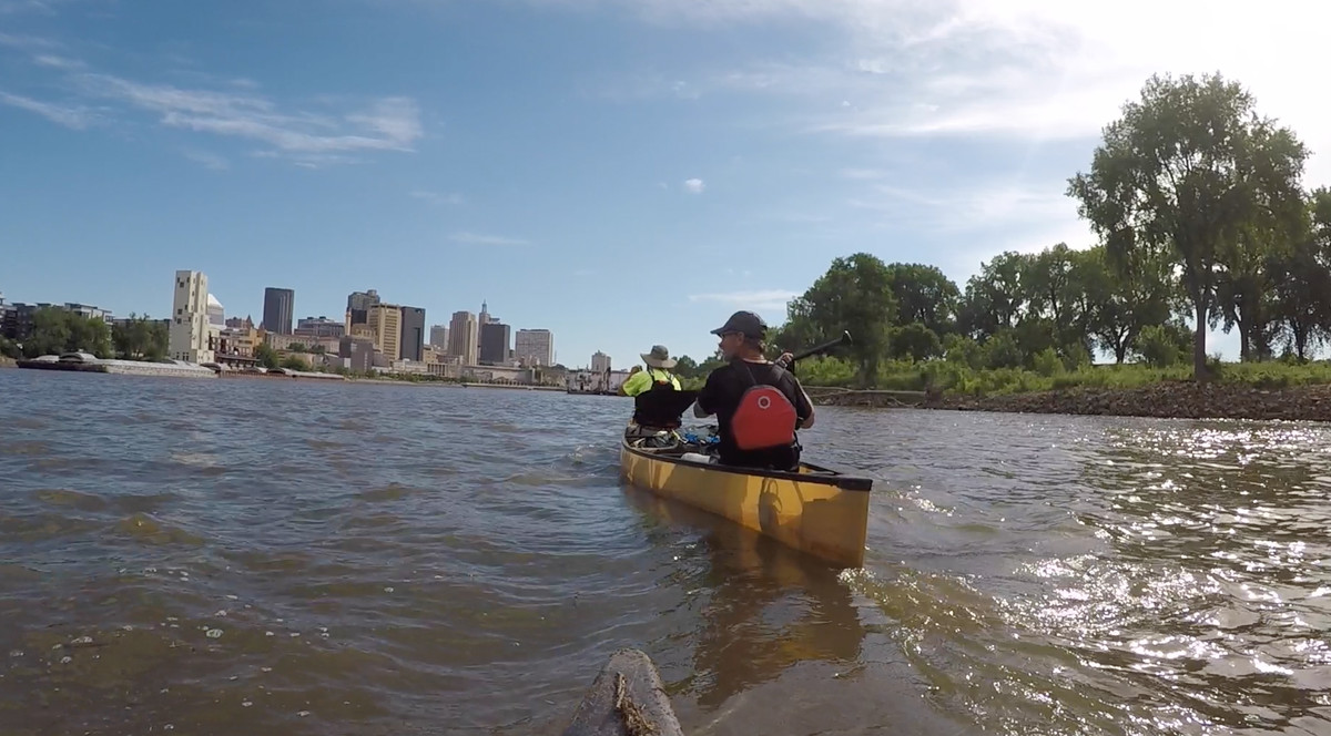 Paul Meinke and team approach St. Paul, Minnesota. | Provided photo