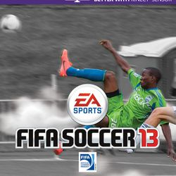 FIFA13 cover: Sounders Academy product Dom Dismuke