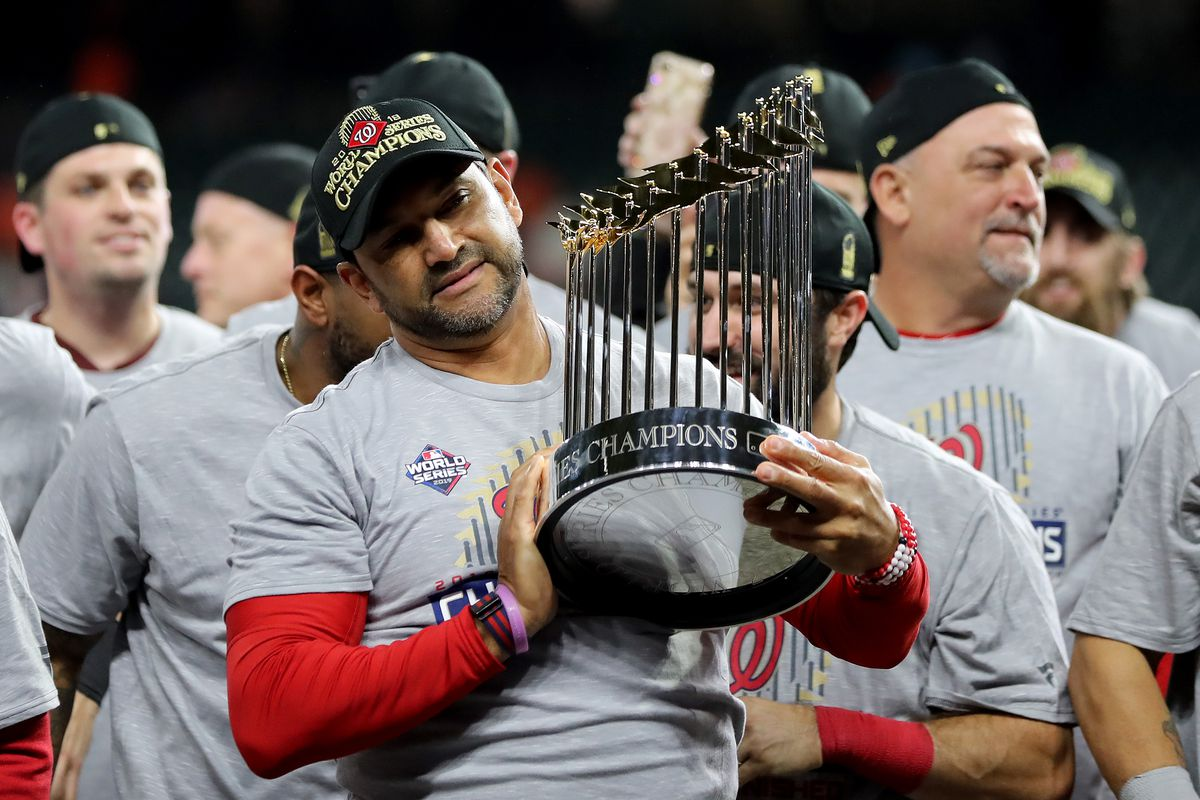 How Davey Martinez kept the Washington Nationals on track on the way to the World Series...
