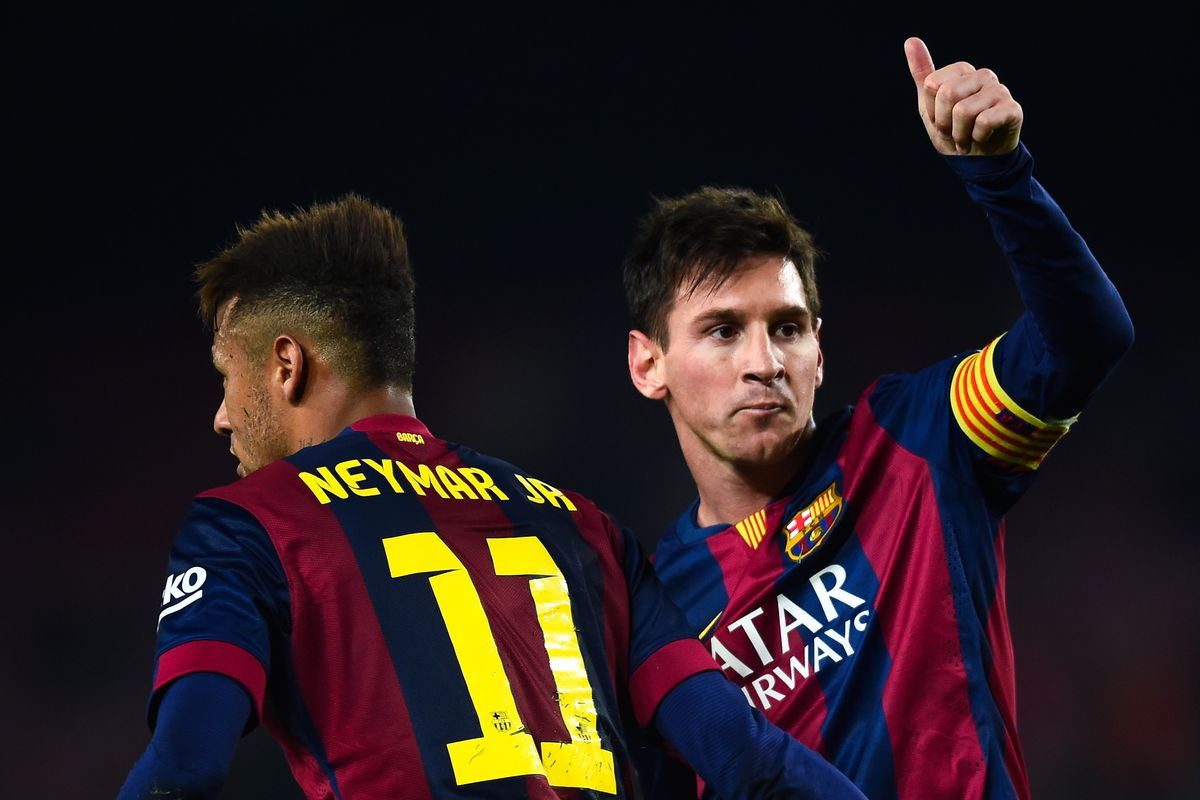 Lionel Messi approves this lineup