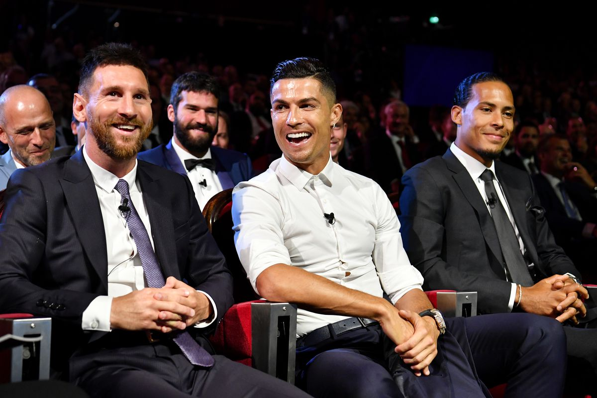 Ronaldo wants to win more Ballon d'Or awards than Lionel Messi