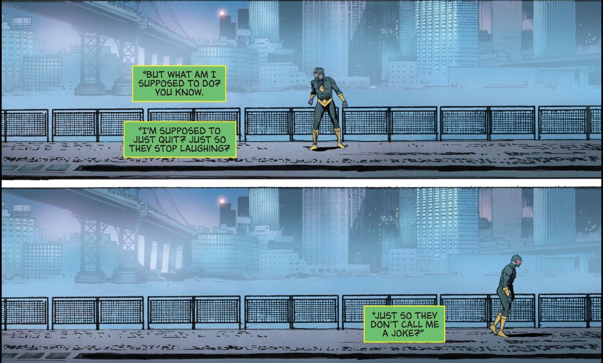 Panels of Kite Man, from Batman #30 (DC Comics 2017).