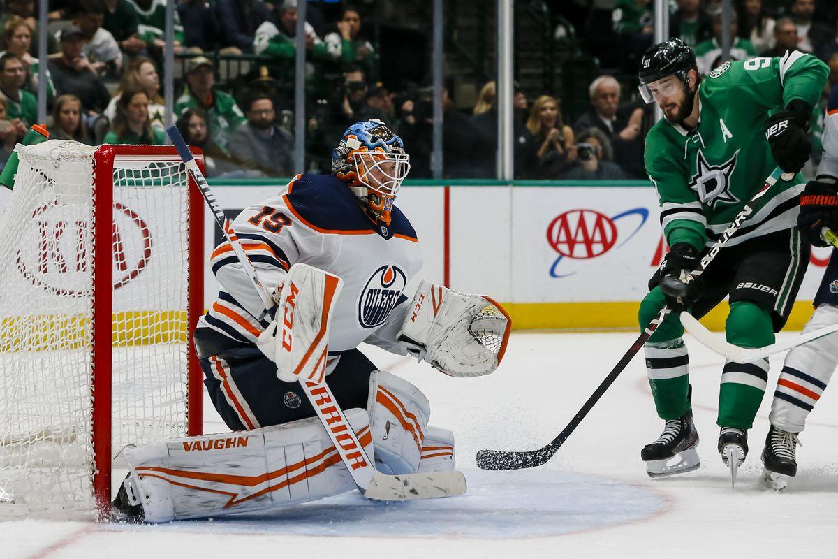 NHL: MAR 03 Oilers at Stars