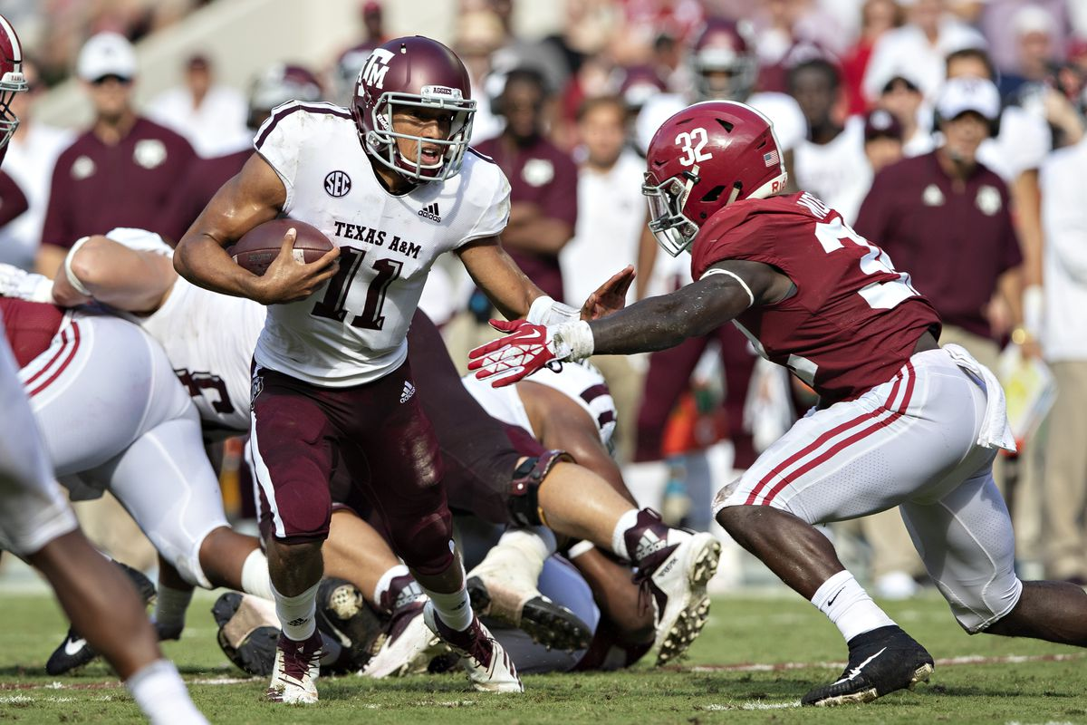 By The Numbers Alabama 45 Texas A M 23 Good Bull Hunting