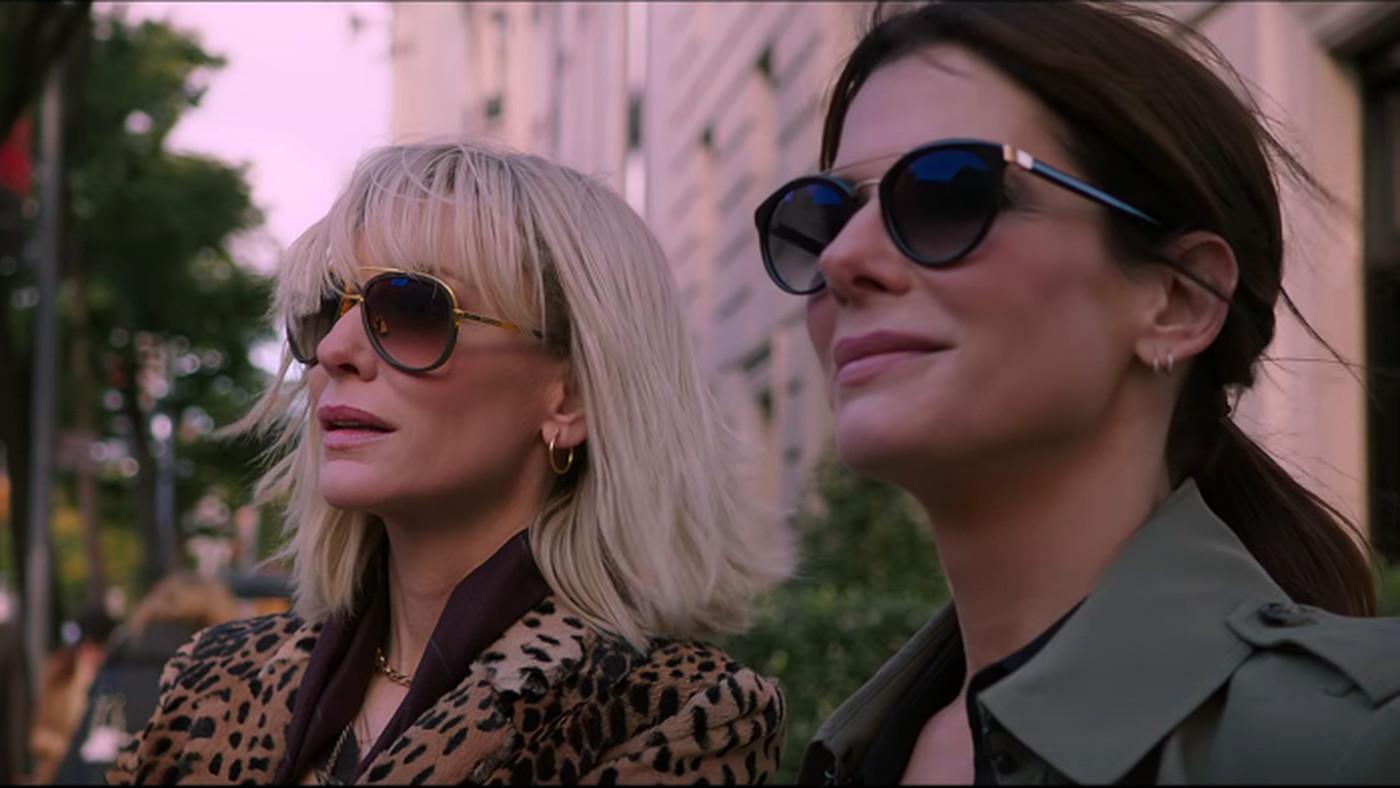New Ocean's 8 trailer: Sandra Bullock, Cate Blanchett, Rihanna team up