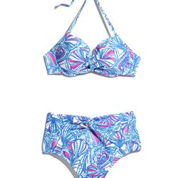 'My Fans' bikini top and bottoms, $24 each, XS-XXL (online only)