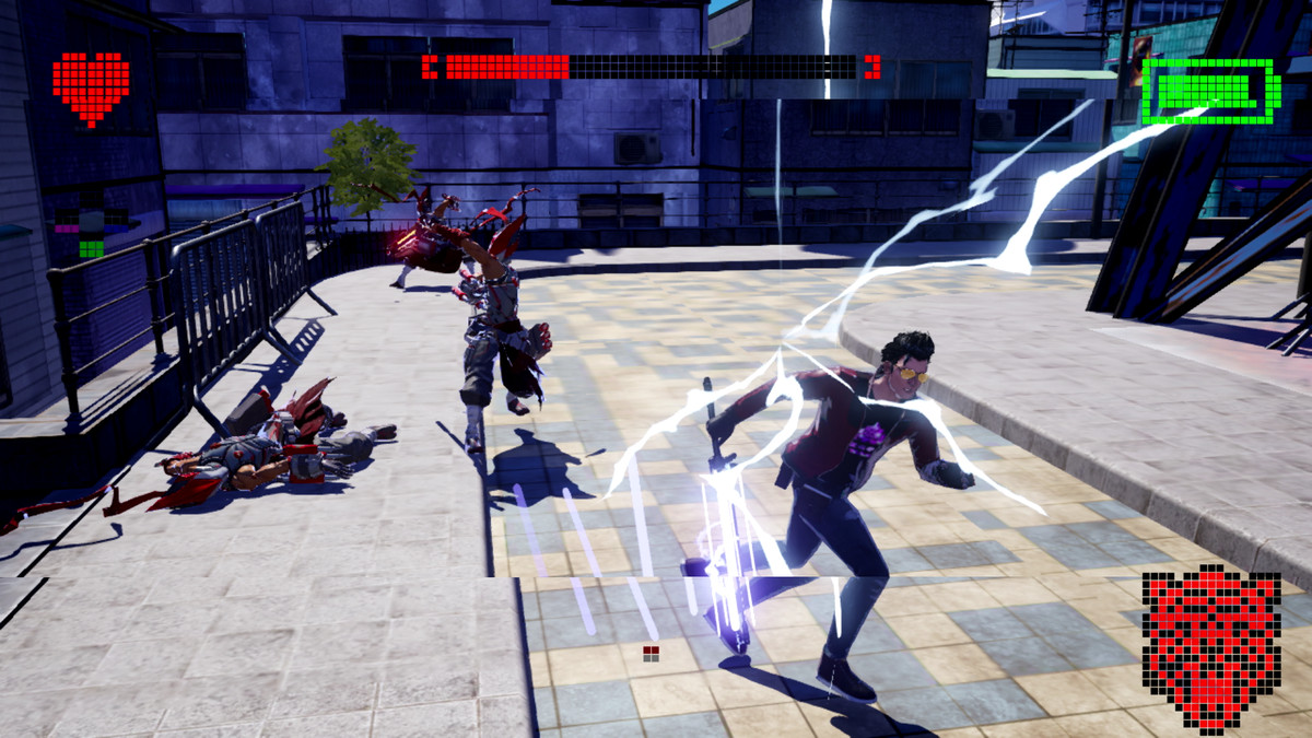 The Native Dancer boss battle in No More Heroes 3