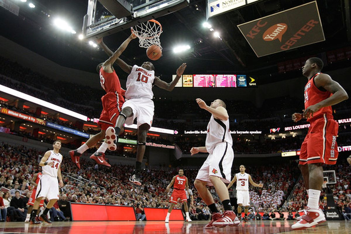 Yes, the Johnnies lost this game. But Paris Horne dunked all over Gorgui Dieng. He hears that BOOF in his dreams.
