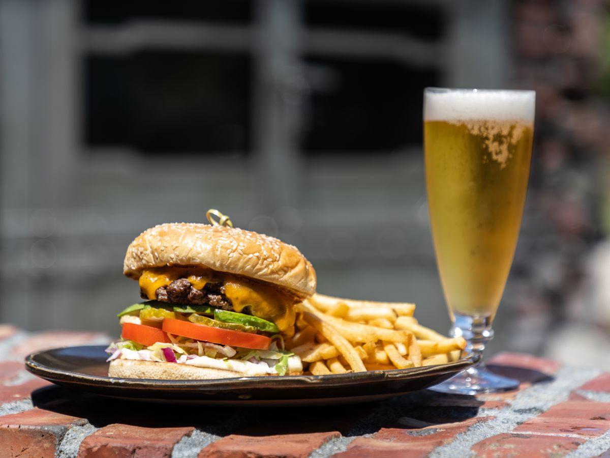 The Lodge at Torrey Pines' Drugstore Burger