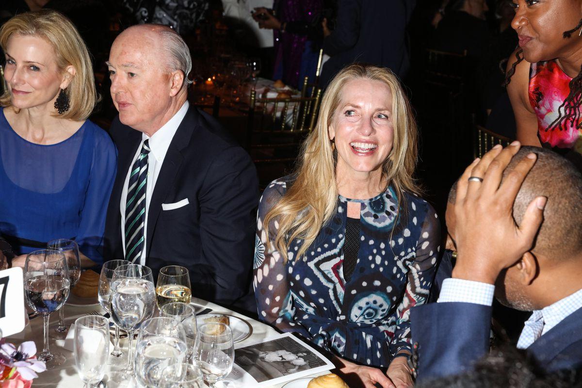 Laurene Powell Jobs at the 2018 Gordon Parks Foundation Gala