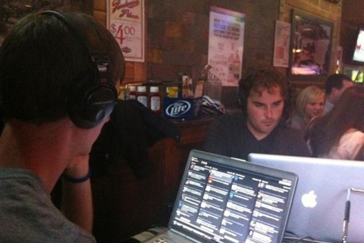 """<strong><em>""""Ted And Trent Talkin' Touches""""</em></strong> - that's exactly what we were doing following <strong>Sporting KC</strong>'s disappointing 1-0 loss to <strong>Columbus Crew</strong>, this time live from the Johnny's Tavern watch party."""