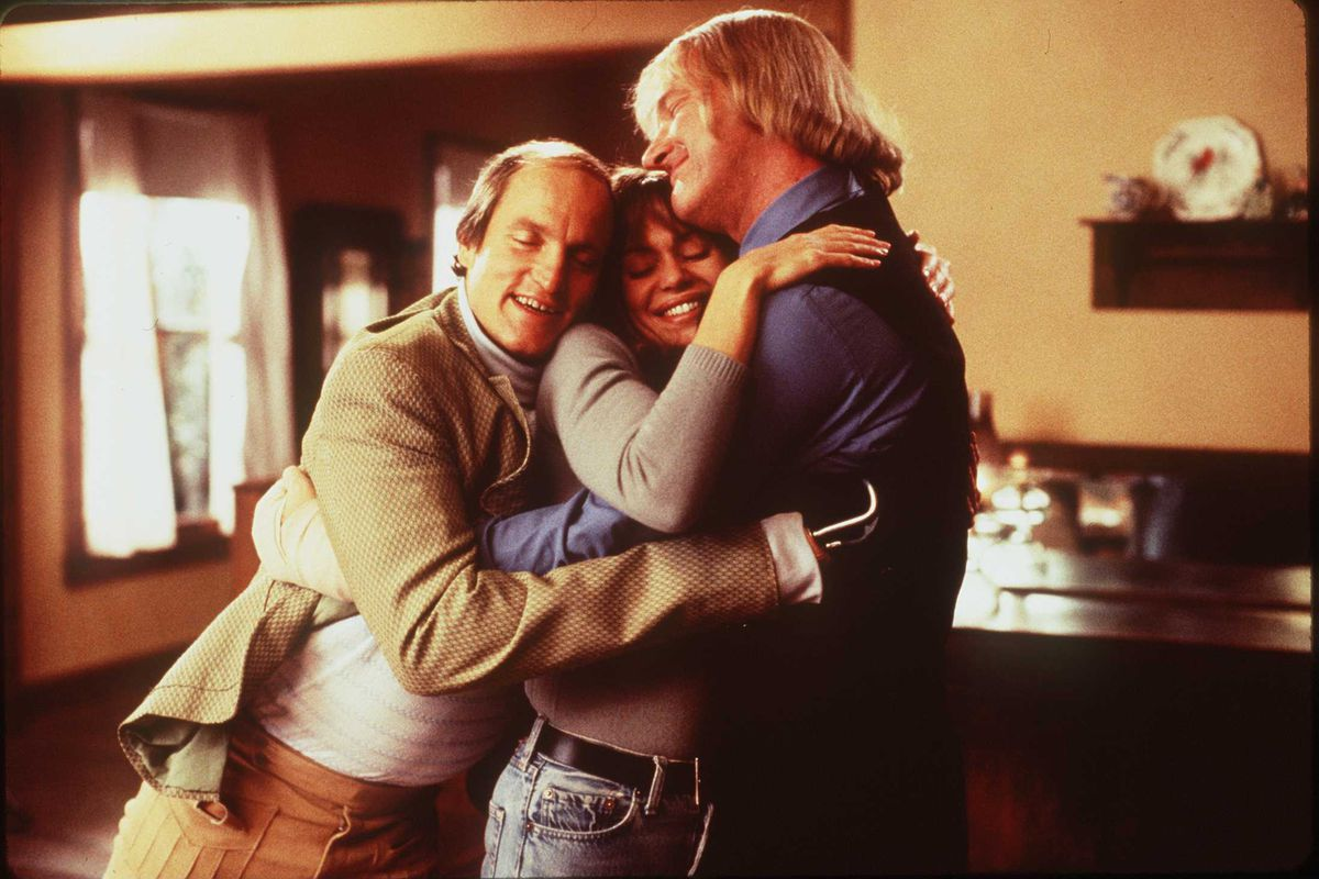 Woody Harrelson Vanessa Angel And Randy Quaid (Background Star In The Movie Kingpin