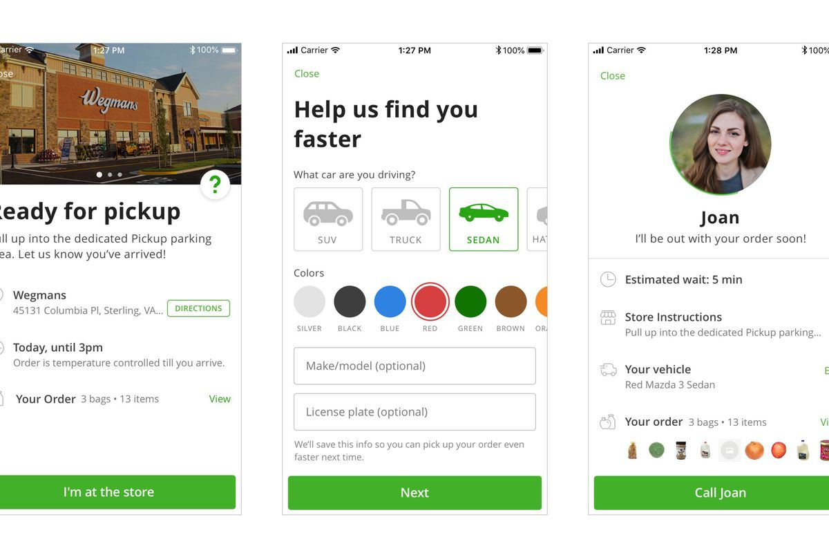 Instacart Launches Grocery Pickup Service In Cities Across The Us The Verge