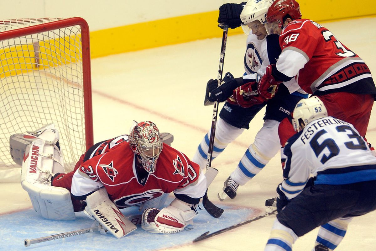 The Hurricanes' preseason game in Charlotte against Winnipeg last September was a small sample of what has become a close and productive relationship between the Canes and Checkers.
