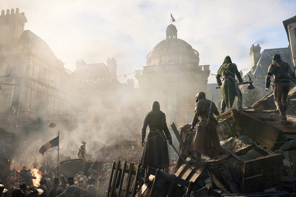Assassin S Creed Unity S Big Patch Is Rolling Out Now On Consoles