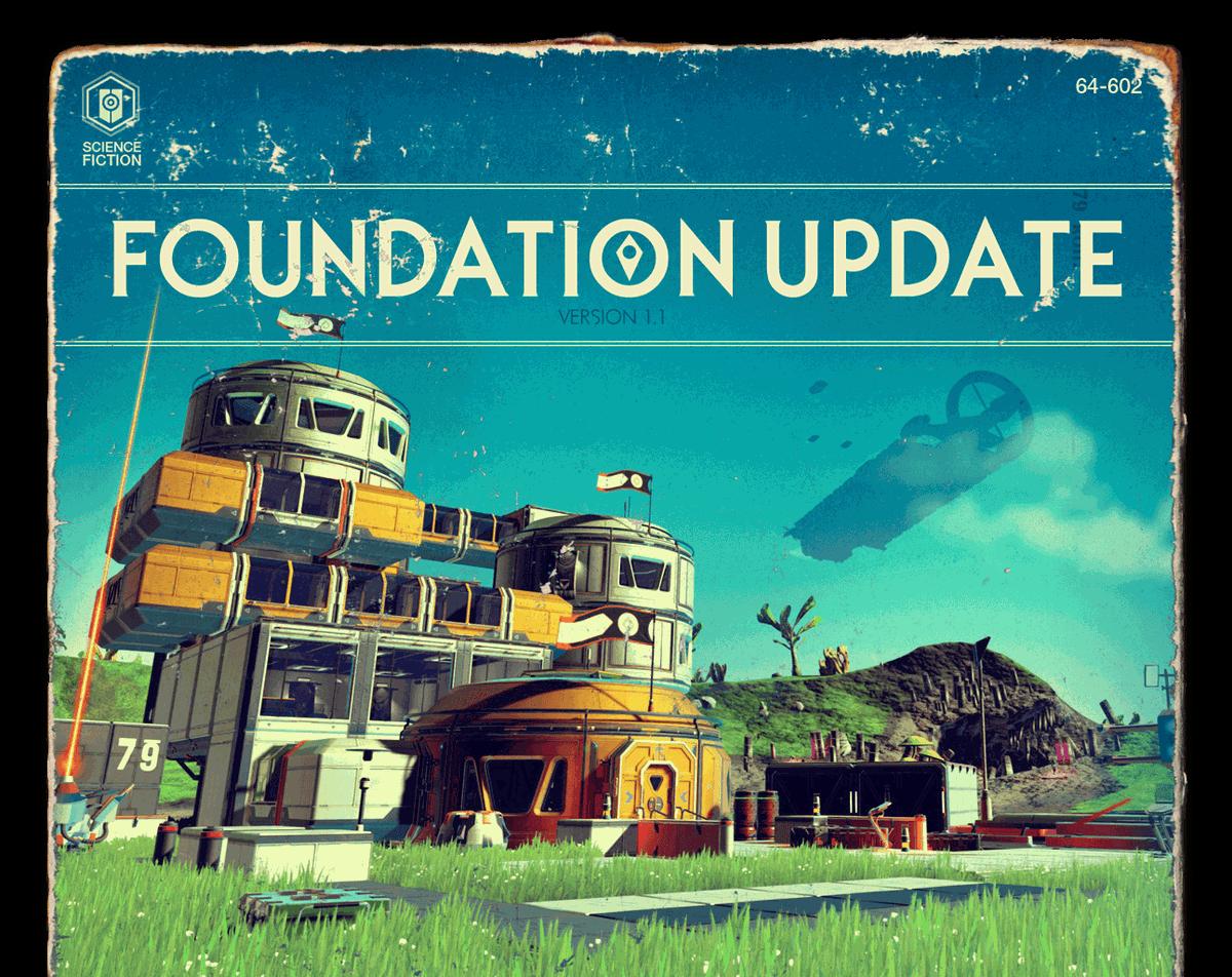 No Man's Sky's Foundation Update