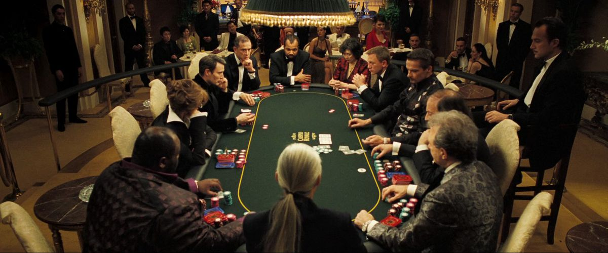 Casino Royale's legendary poker scene broken down by James Bond director -  Polygon