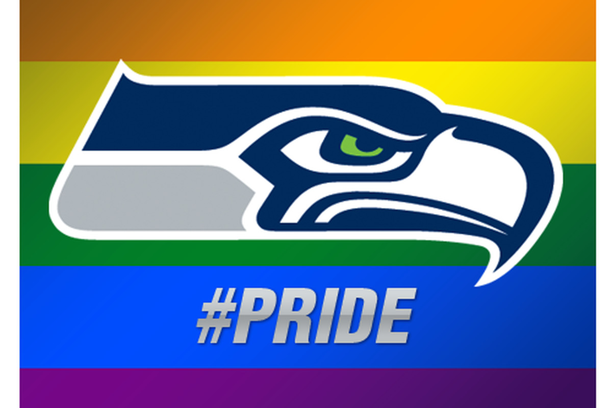 Lgbtsnf Seahawks Logo Change To Support Gay Pride Proved Controversial Outsports