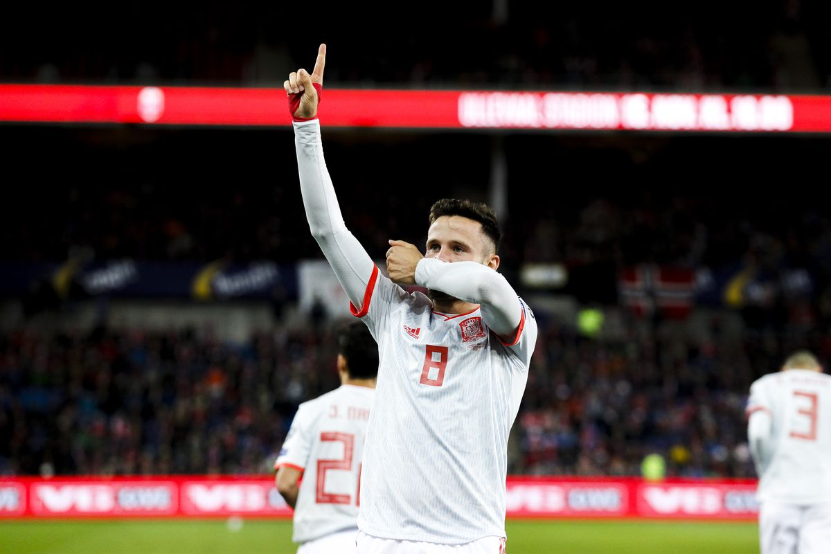 Norway v Spain -EURO Qualifier