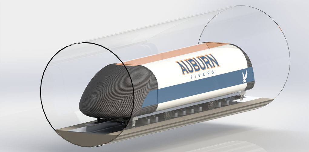 Here are the Hyperloop pods competing in Elon Musk's big