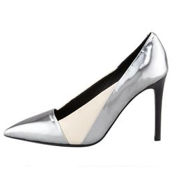 """<b>See by Chloe</b>, <a href=""""http://www.bergdorfgoodman.com/p/See-by-Chloe-Specchio-Pointed-Toe-Pump-Anthracite-Pointed-Toe-Pump/prod84700032_cat413800_cat379623_/?isEditorial=false&index=32&cmCat=cat000000cat200648cat203509cat379623cat413800"""">$335</a>"""