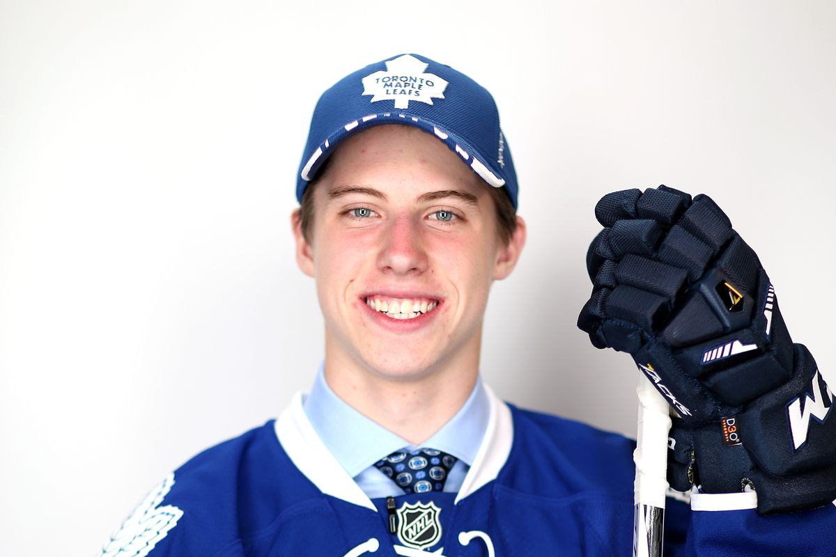 Mitch Marner will get a new style Leafs jersey in Halifax.