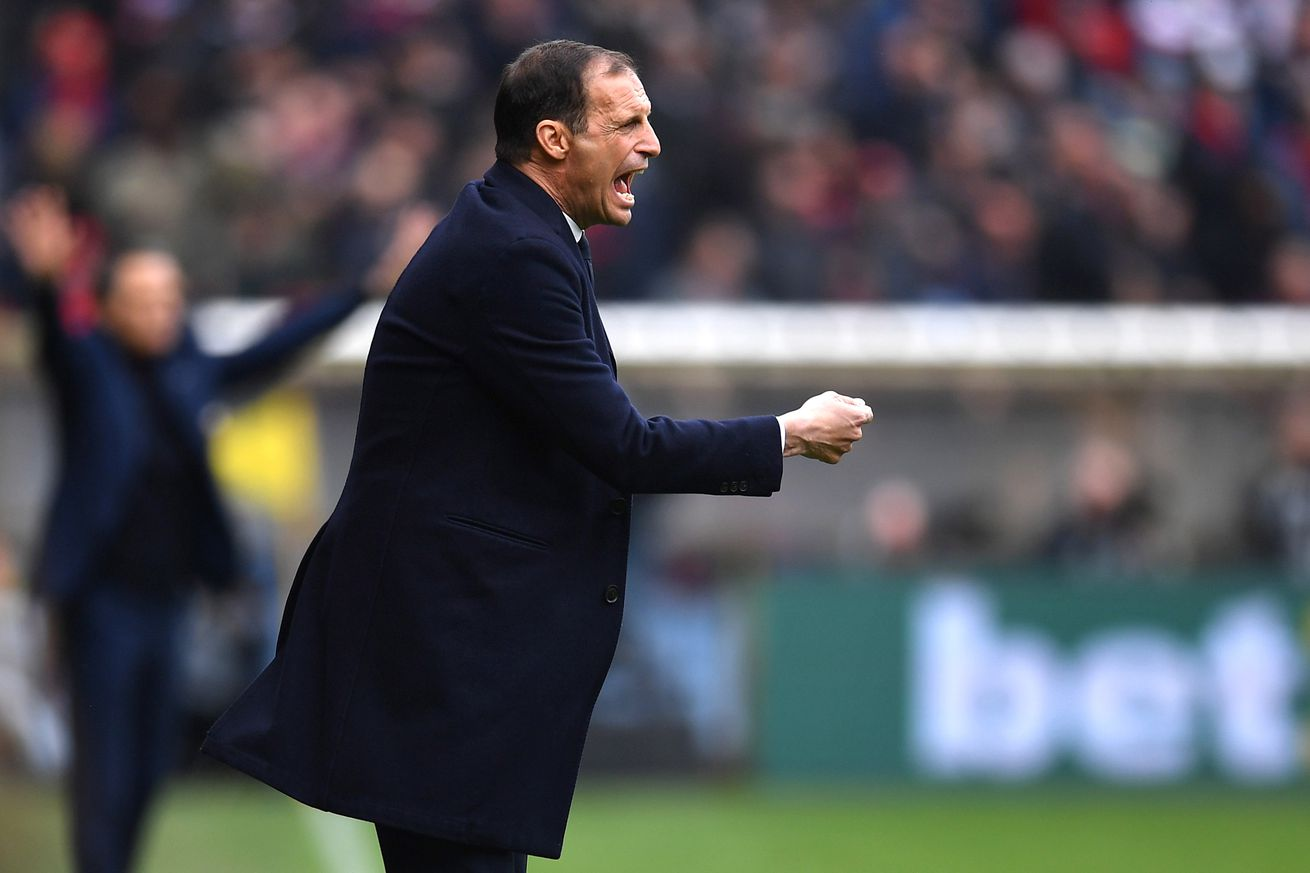 Allegri: I expected a different Juventus
