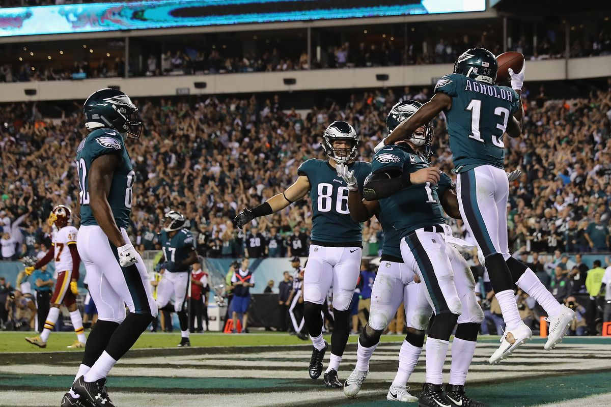 866c0f66aff Washington vs. Eagles 2017 live results  Scores and highlights ...