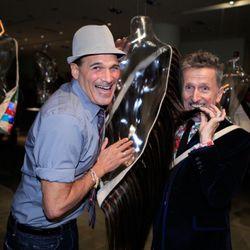 Actor Phillip Bloch and Simon Doonan