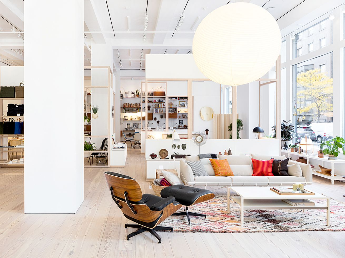 The Herman Miller flagship store in New York City.