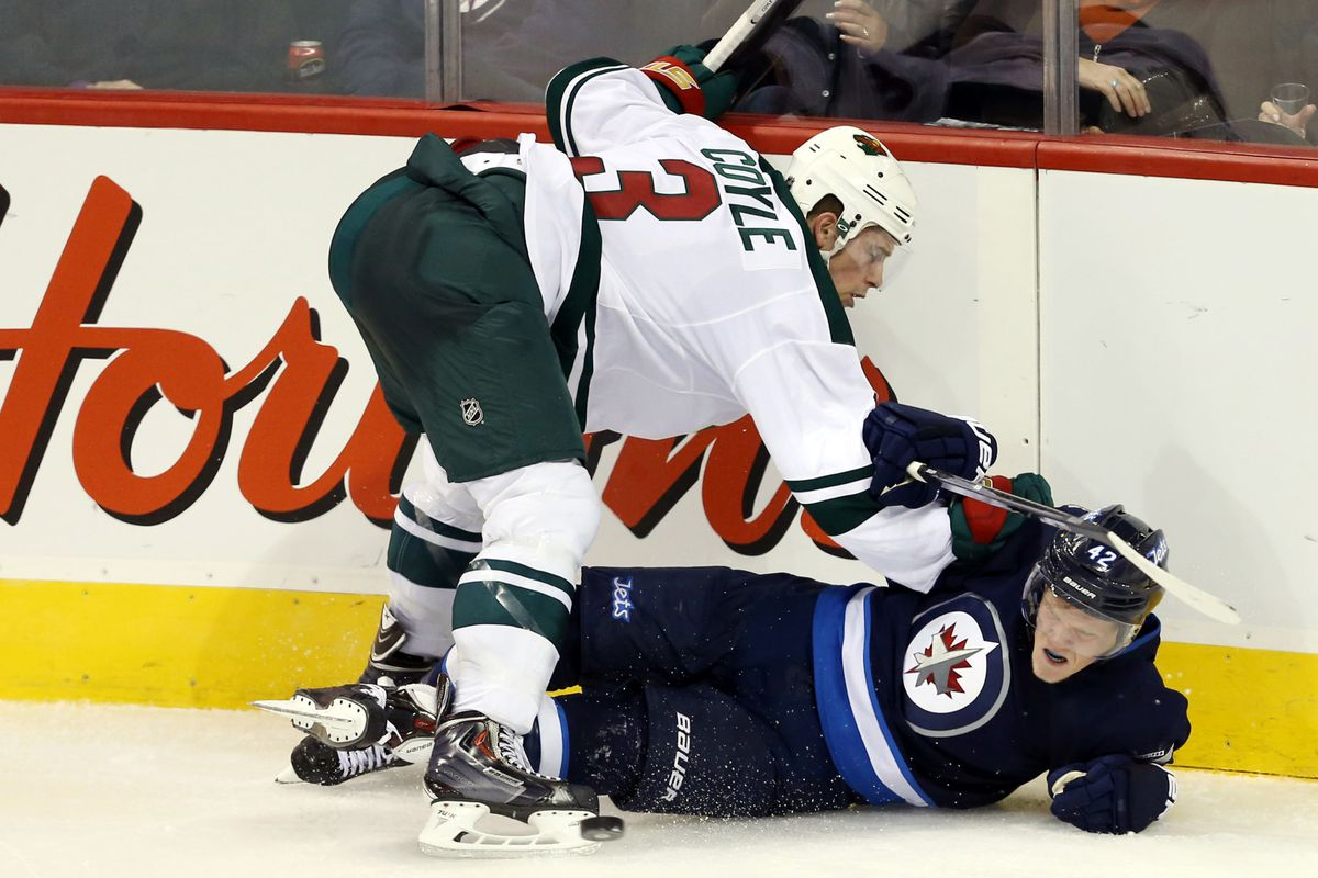 Jets winger Nikolaj Ehlers may be easy to throw around, but his skill is off the charts.
