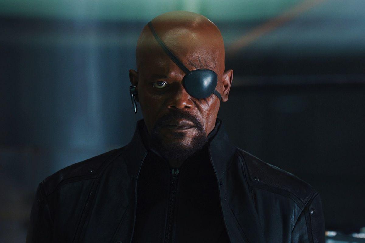 Samuel L. Jackson as Nick Fury in Avengers
