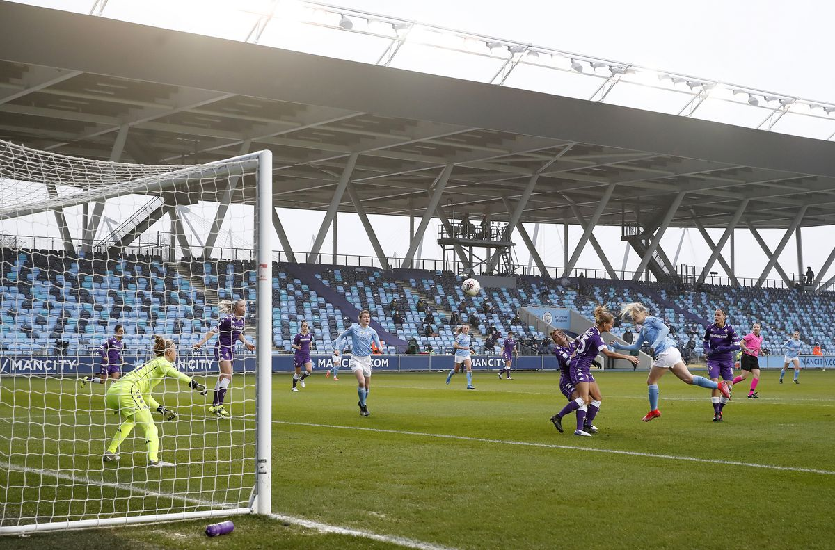 Manchester City v Fiorentina - Women's UEFA Champions League - Round of 16 - First Leg - Academy Stadium