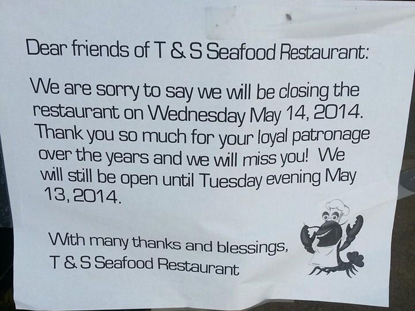 Dim Sum Destination T & S Seafood to Shutter on May 14 - Eater Austin