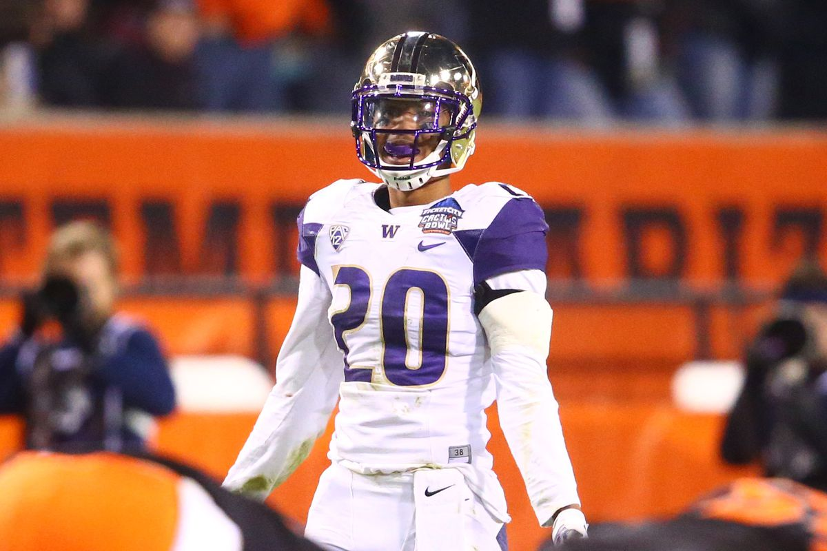 Workout warrior Kevin King is looking to score big in this weekend's Husky Combine