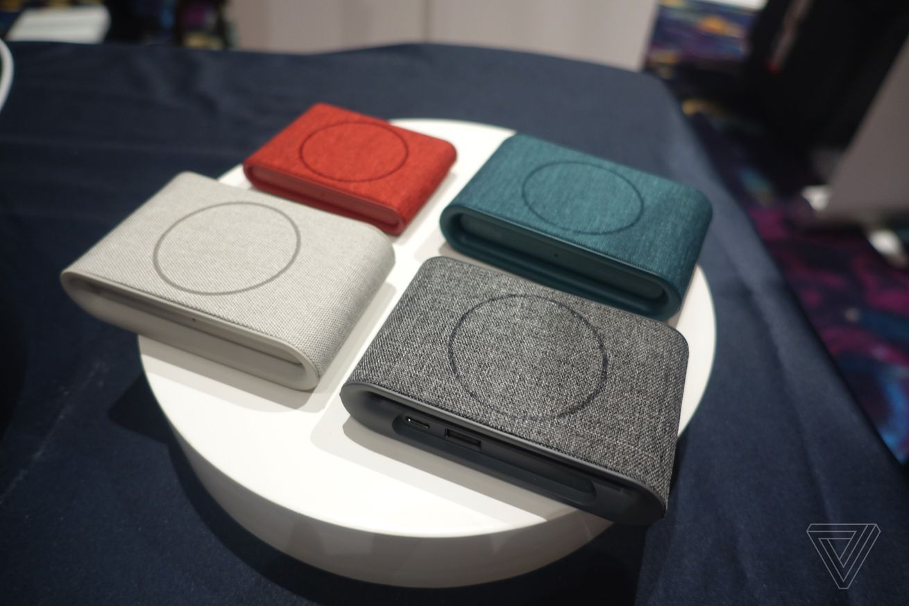 wireless charging pads are all over ces 2018 thanks to the new iphones