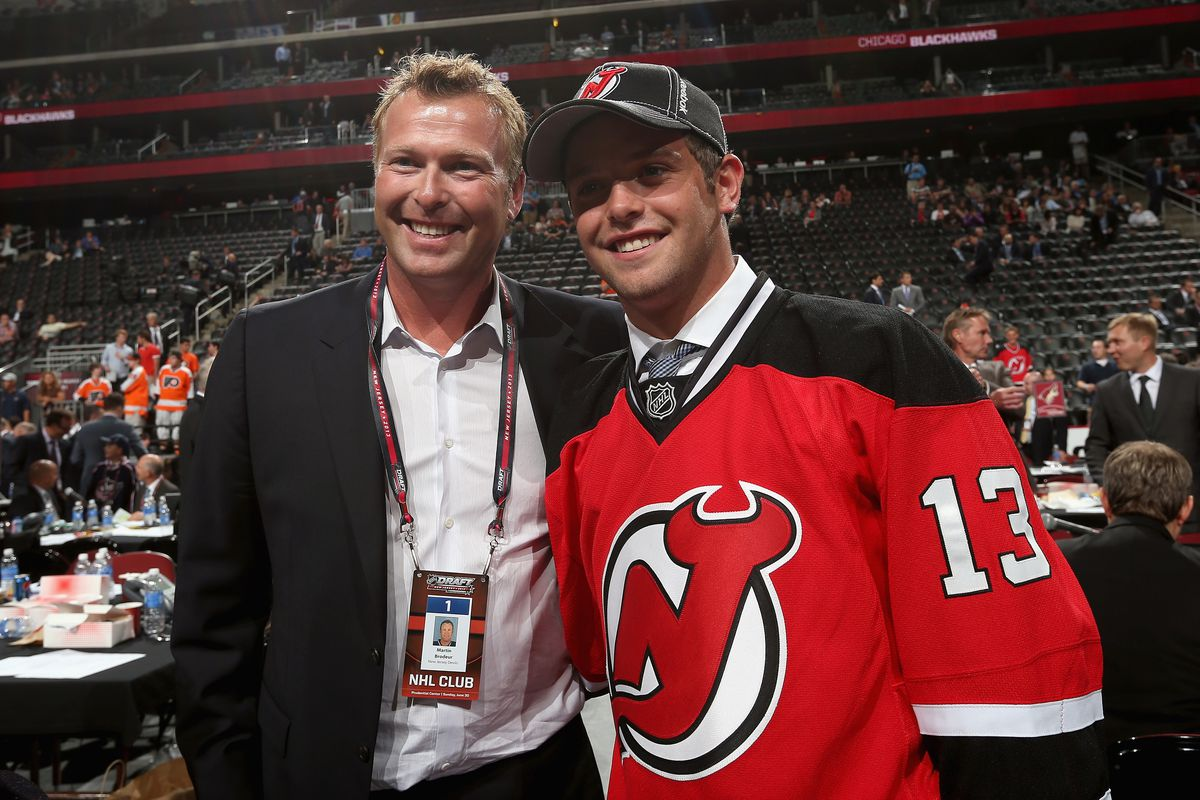 The New Jersey Devils Get A Seventh Rounder To Take Anthony Brodeur