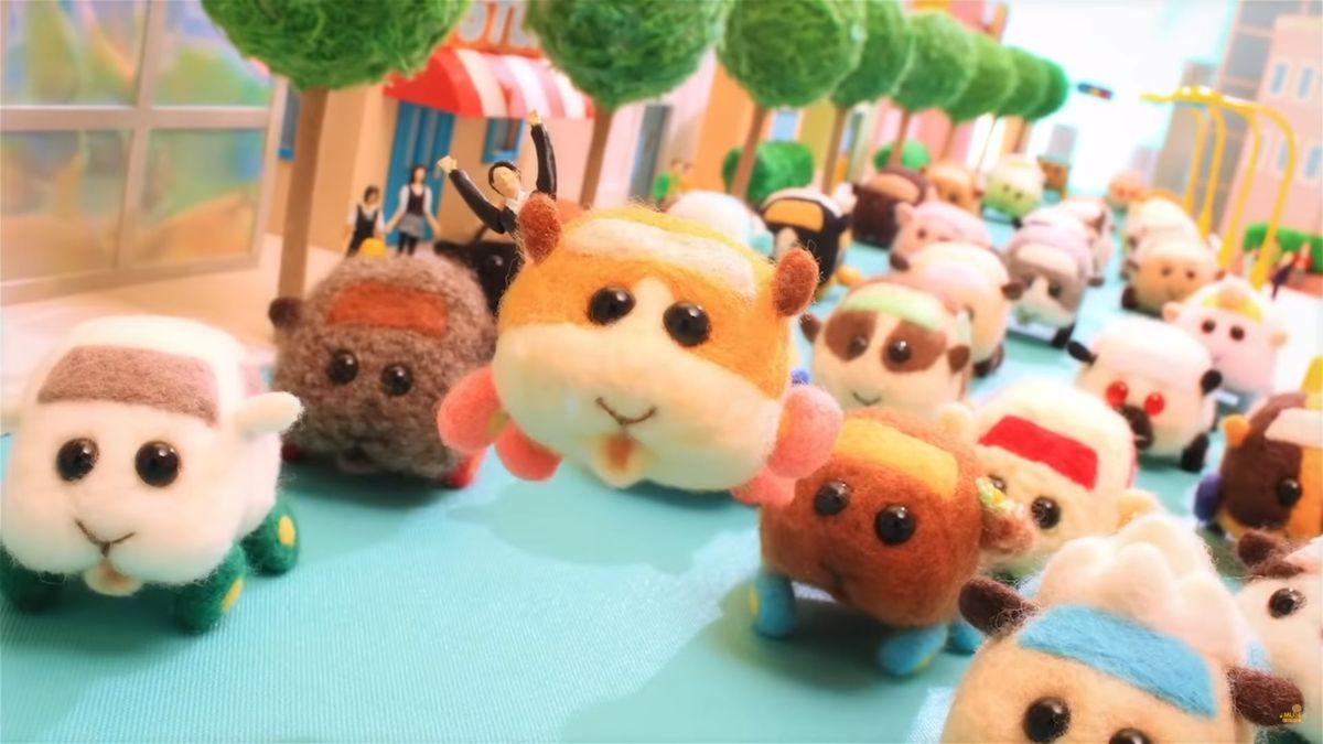 Pui Pui MolCar's fluffy animals