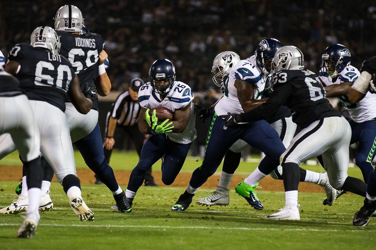 Raiders Vs Seahawks Preseason Week 4 Game Time Tv Schedule Online Streaming Announcers More Silver And Black Pride