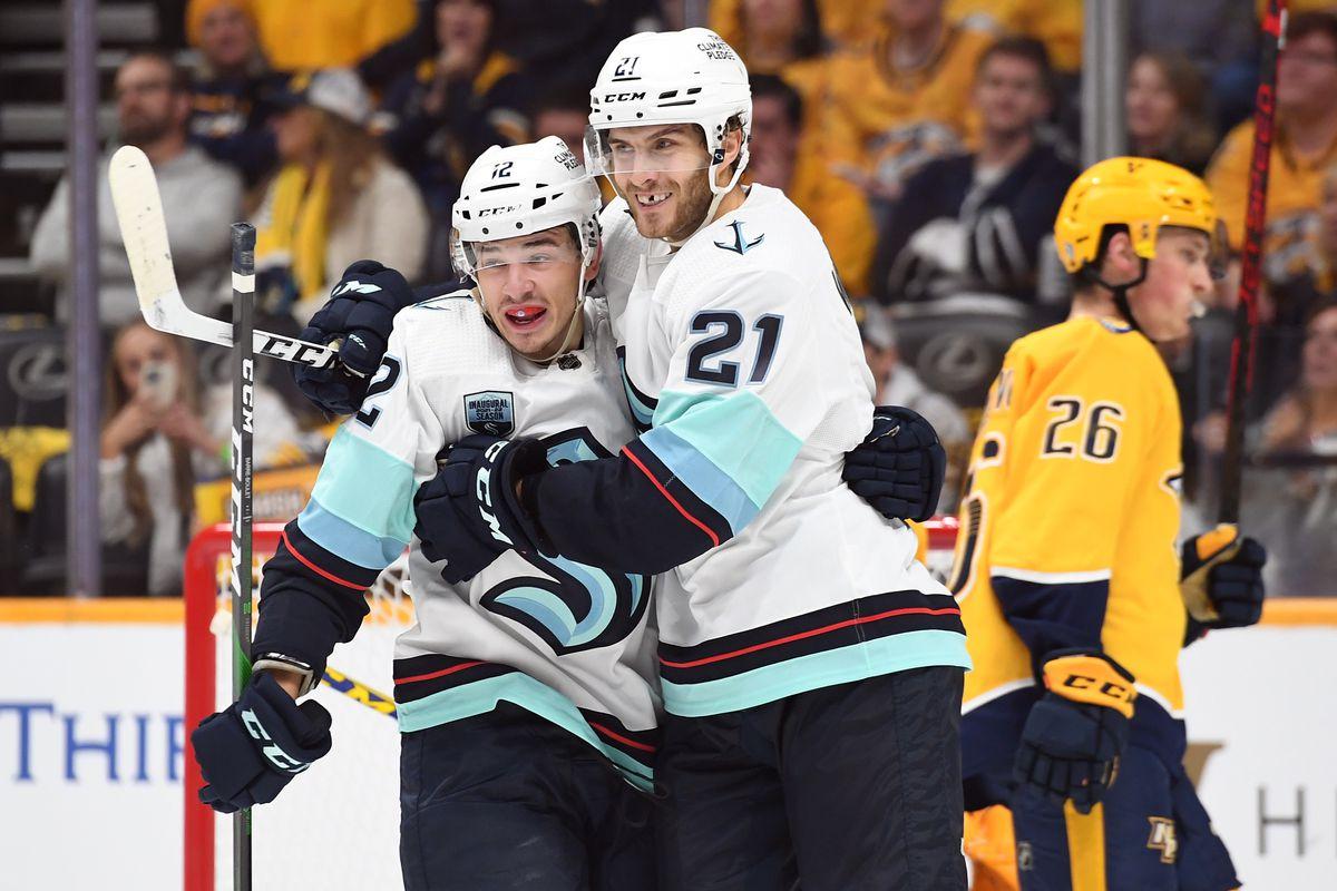 NHL: Seattle Kraken at Nashville Predators