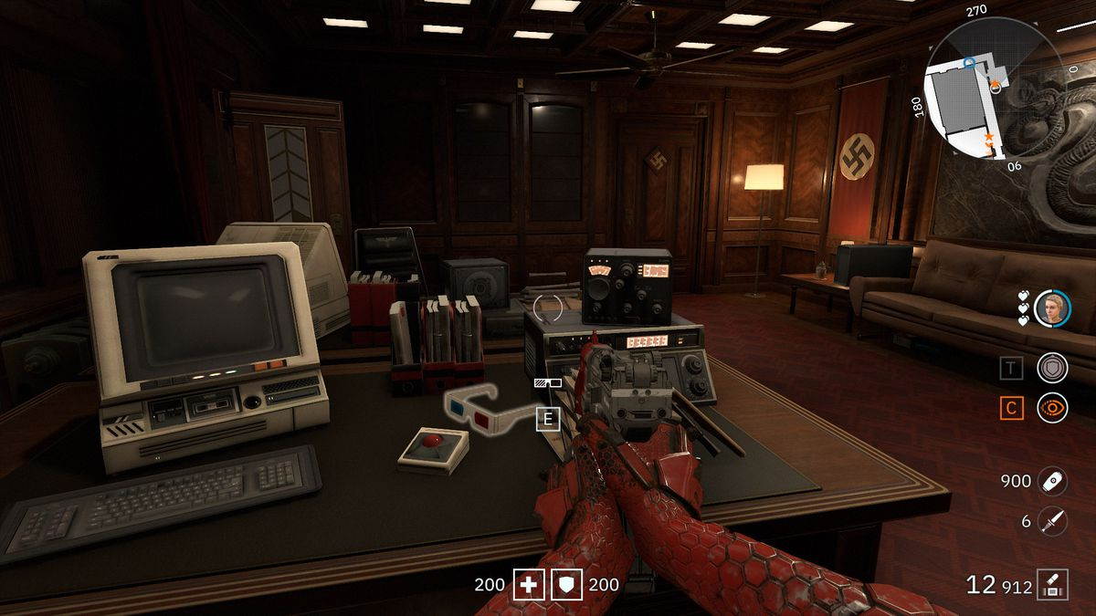 Wolfenstein: Youngblood 3D Glasses 48 Jager collectibles