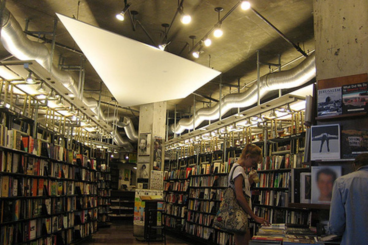 "Image via <a href=""http://www.tripwolf.com/en/guide/show/804193/USA/New-York/New-York-City/St.-Marks-Bookstore-"">Tripwolf</a>"