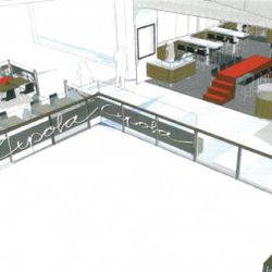 The entire restaurant will seat just over 100, including the patio.