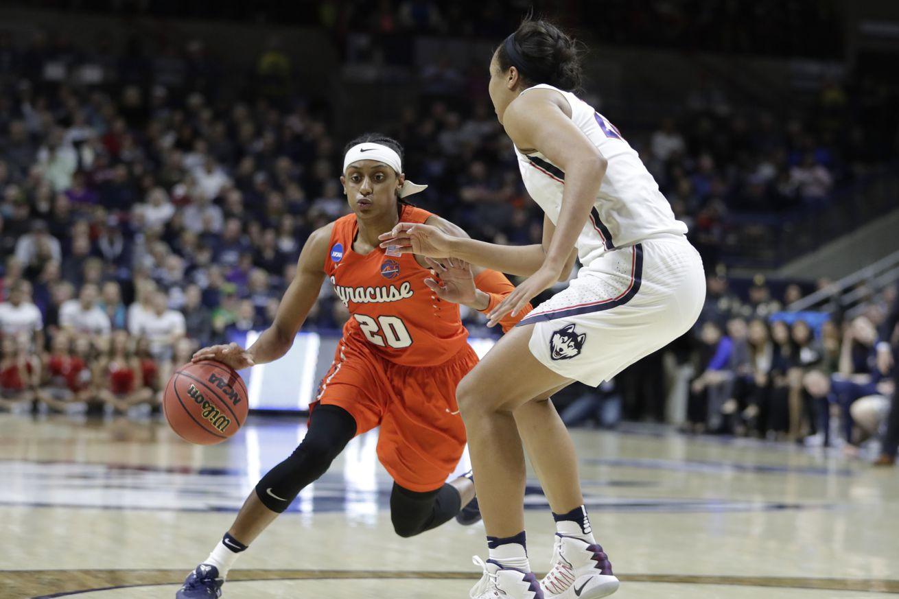 NCAA Womens Basketball: NCAA Tournament Second Round-Syracuse vs Connecticut