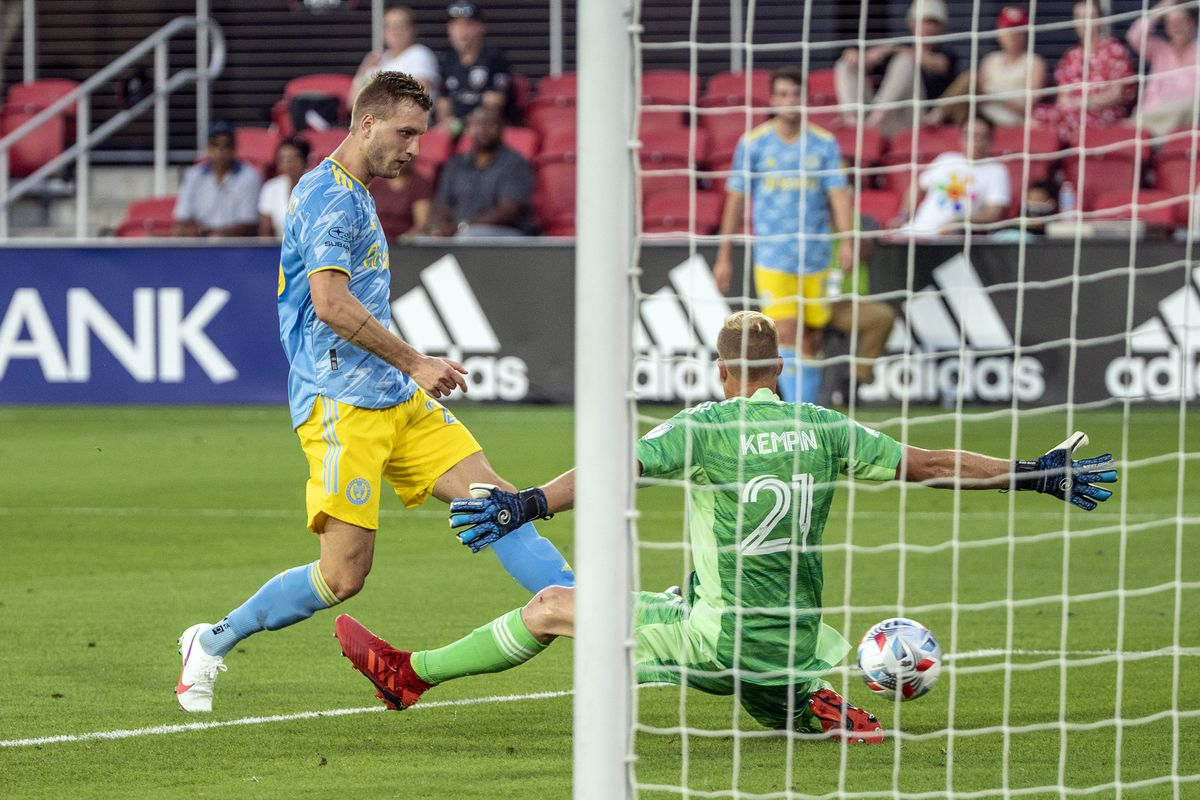 SOCCER: MAY 23 MLS - Philadelphia Union at DC United